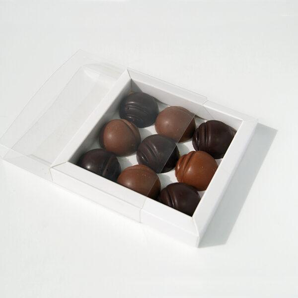 Sleevebox 3 Bars/9 Chocolates