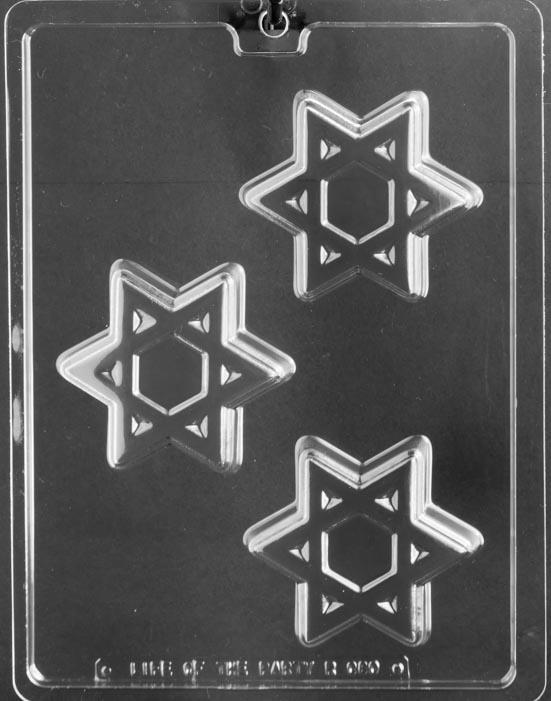 Moules pour Biscuits,  étoile juive