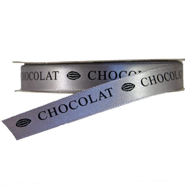 Ruban imprimé Chocolat