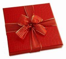Red croco illusion 16ct box
