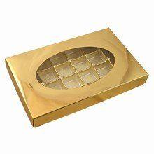 Gold, 1lb rectangular box