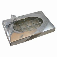 Silver, 1lb rectangular box