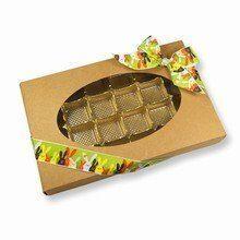 Kraft, 1lb rectangular box