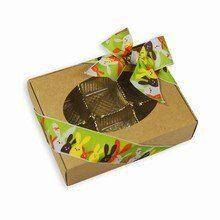 1/4lb Kraft Natural paper box