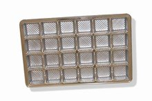 Clear plastic tray, 24ct