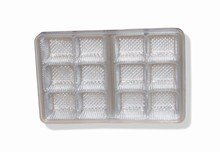 Clear plastic trays 12ct