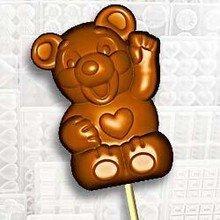 Teddy Bear Lolly Mold