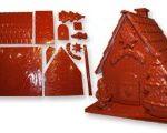 Moule chocolat maison du Père Noël