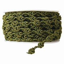 r85 Ruban crochet vert olive