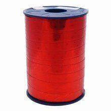 Bolduc ribbon metallic red