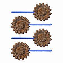 Sunflower lollipop mold (CC-SUF53)