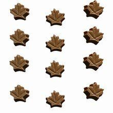 I1 Canadian Maple Leaf bitesize mold