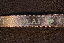 rc105 Ruban chocolat brun-kaki