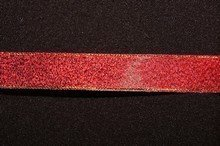 rb50 Sparkly Red Ribbon