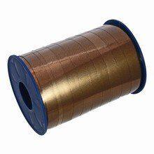 RB110 Metallic Brown Curling Ribbon