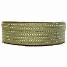 Grosgrain medium green ribbon (1/4in)
