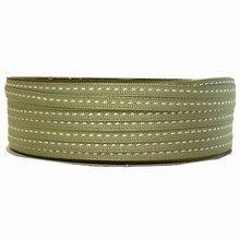 Ruban grosgrain lacet vert moyen (5mm)