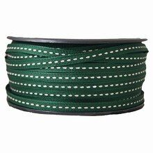 Grosgrain dark green ribbon (1/4in)