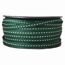 Ruban grosgrain lacet vert foncé (5mm)