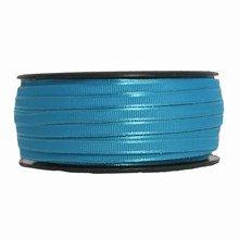 Ruban lacet satiné turquoise (5mm)