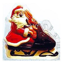 Santa on skidoo