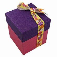 Rigid 4 tiered Iris box