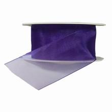 Sheer violet ribbon 40mm