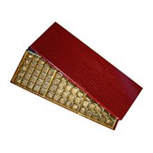 Boîte rouge croco, 75ct