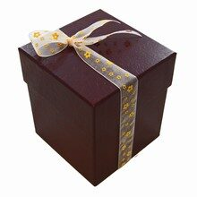 4tiers display box croco burgundy