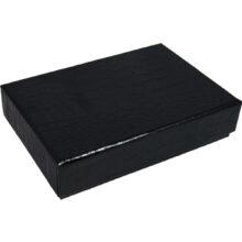 Croco EBONY 6ct Box