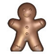 Gingerbread Man Double Mold