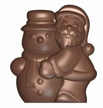Père Noël + Bonhomme de Neige