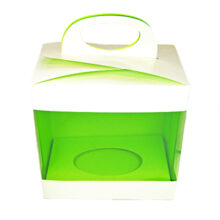 Box for 3d chocolate, inner green