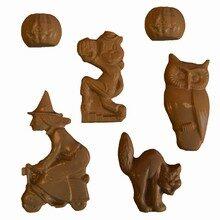 Assorted Halloween Characters Mold