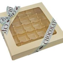 Vanilla, 1lb square box