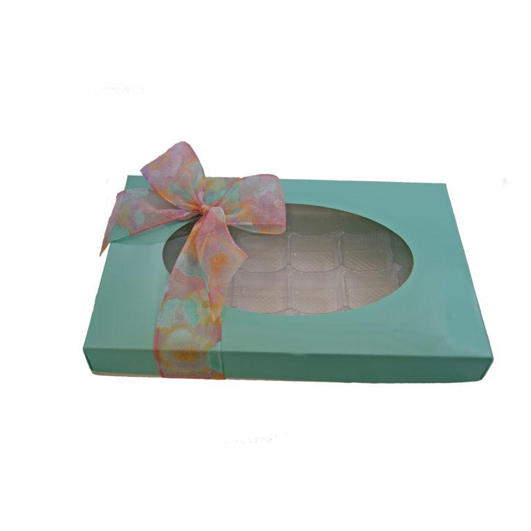 Turquoise, 1lb rectangular box
