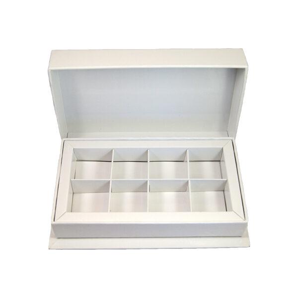 Box Laurentien white, 8ct