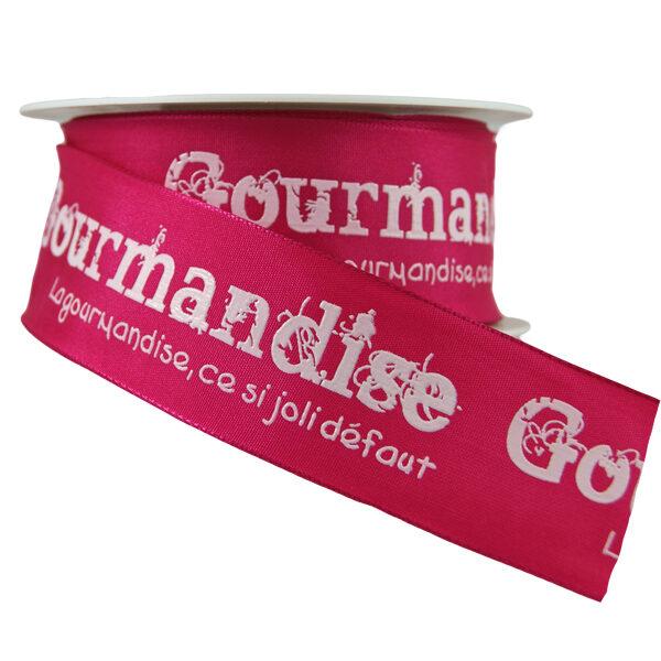 Pink Gourmandise Ribbon_40mm