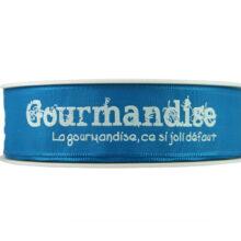 Blue Gourmandise Ribbon_25mm