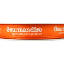 Orange Gourmandise Ribbon_15mm