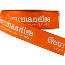 Orange Gourmandise Ribbon_25mm