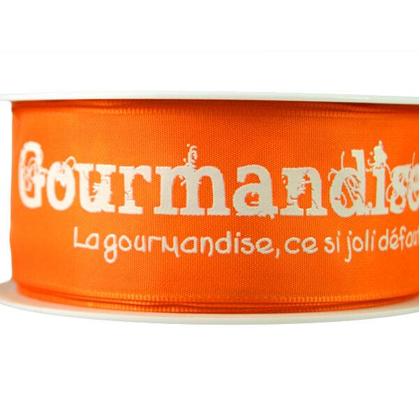 Orange Gourmandise Ribbon_40mm