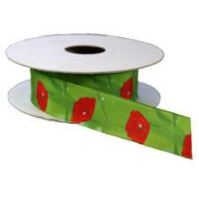 Poppy flower ribbon