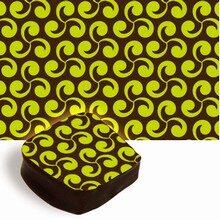 Lime Green Swirls Transfer Sheets