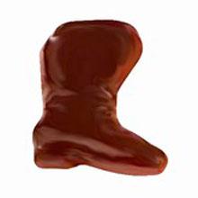 Moule chocolat double bottes du Père Noël