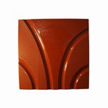 Moule chocolat tablette carrée