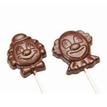 Moule chocolat suçon clowns