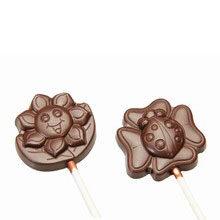 Sunshine +  Ladybug Chocolate Lollipop Mold