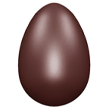 Moule chocolat oeuf lisse