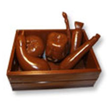 3D Vegetables Chocolate Mold